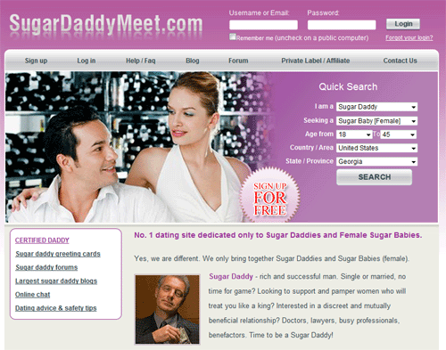 free sugar daddy dating site in usa