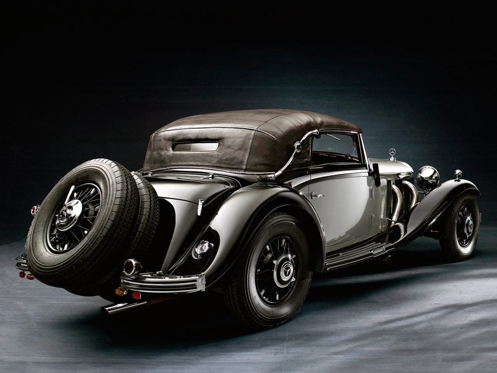 Mercedes Benz History Of The Name >> Top Ten Most Beautiful Cars of All Time